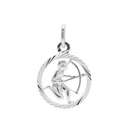 Vackert skytten hängsmycke i äkta silver.