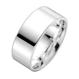 Förlovningsring i äkta silver 9mm