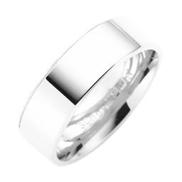 Förlovningsring i äkta silver 6mm
