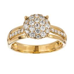 Diamant ring 18K guld