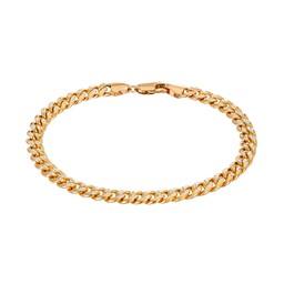 Pansarlänk 18k guld 19cm