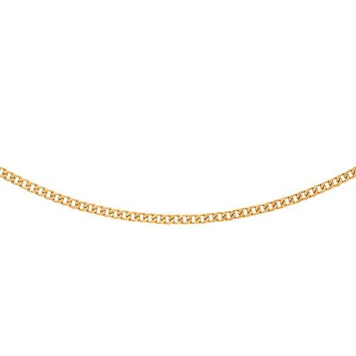 Pansarlänk i 18K guld 50cm