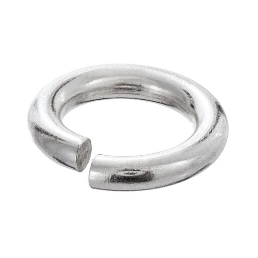 Bindögla styck i äkta silver