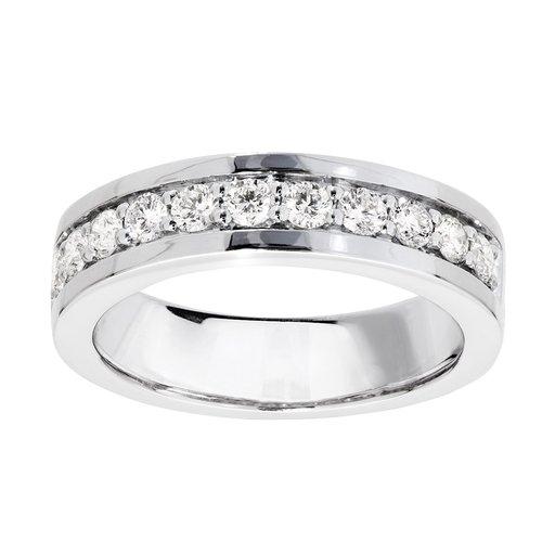 Diamant ring i 18K guld