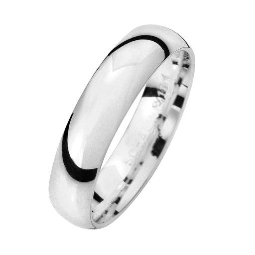 Förlovningsring i äkta silver 4,5mm