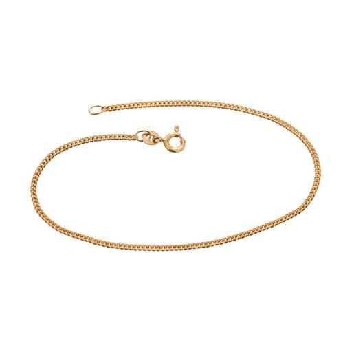 Armband i 18K guld 17cm