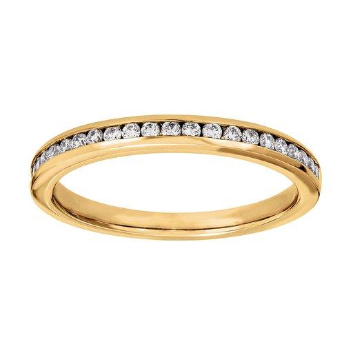 Diamantring 18K guld