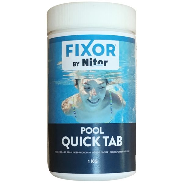 Quick tab, klor 20 g