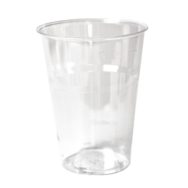Glas, 25 cl plast