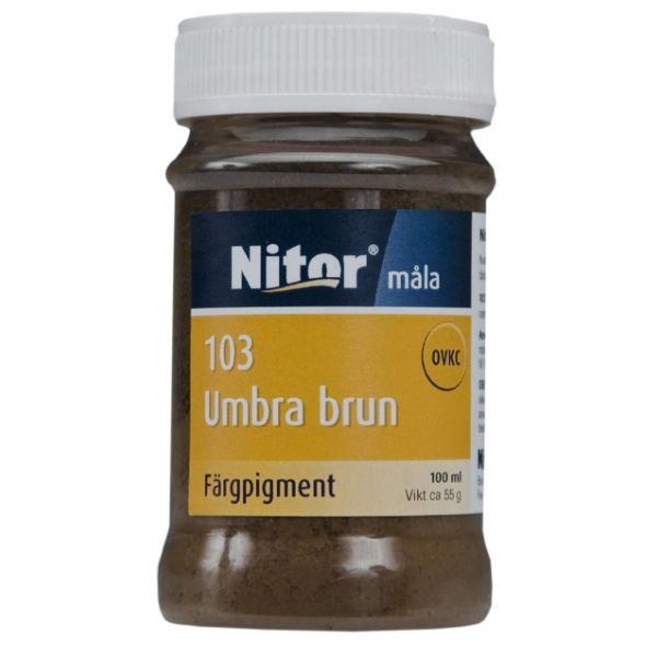 Umbra brun, nr 103