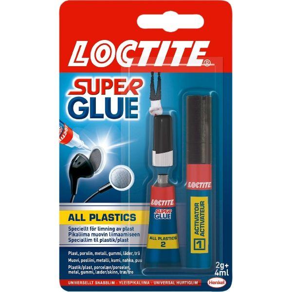 Super Glue All Plastics