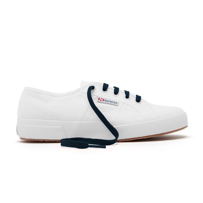 COLOR LACES NAVY-WHITE OFF