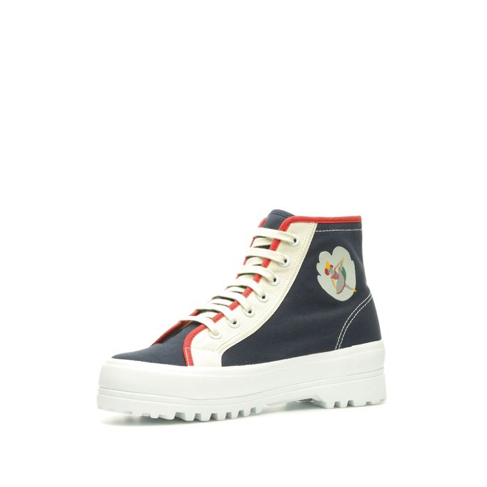 2341 SUPERGA X EMMA & AMANDA BLUE SKY CAPTAIN