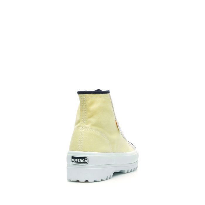 2341 SUPERGA X EMMA & AMANDA YELLOW FLOWER ORCHID