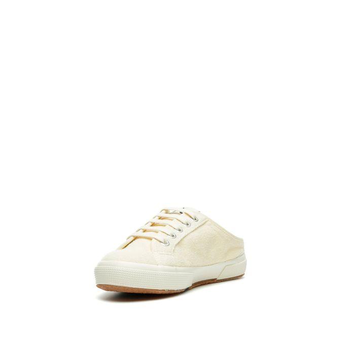 2491 SUPERGA X ALEXA CHUNG TERRYTOWELW OFF WHITE
