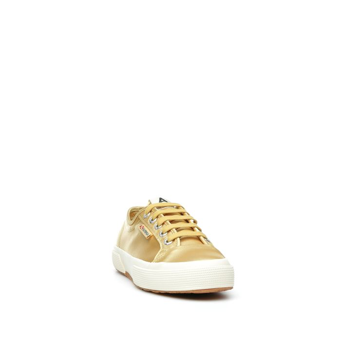 2492 SUPERGA X ALEXA CHUNG SATINW YELLOW MUSTARD