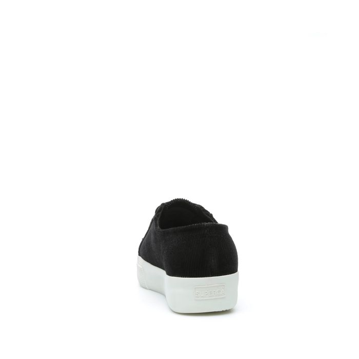 2730 CORDUROYW BLACK-WHITE
