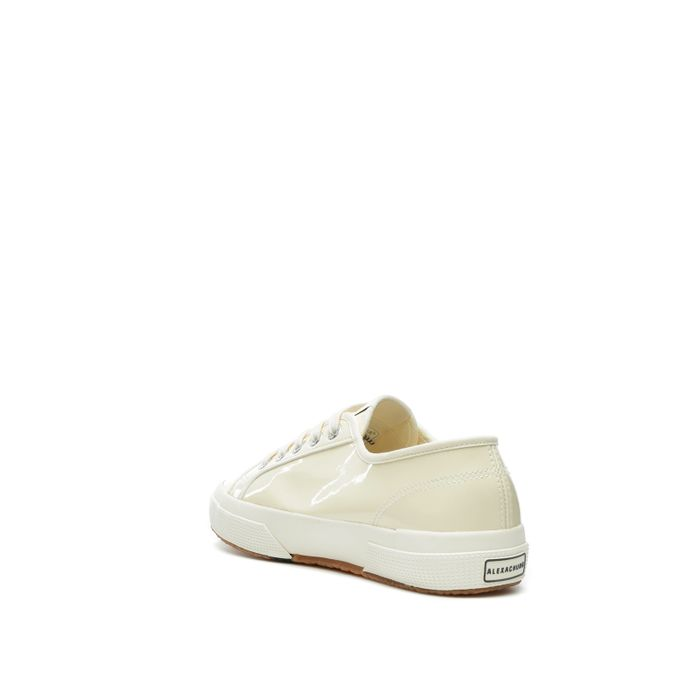 2750 SUPERGA X ALEXA CHUNG VARNISHW OFF WHITE