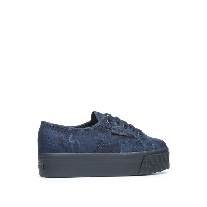 2790 SUPERGA X MAKIA FANCOTW BLUEINSIGNABLACK