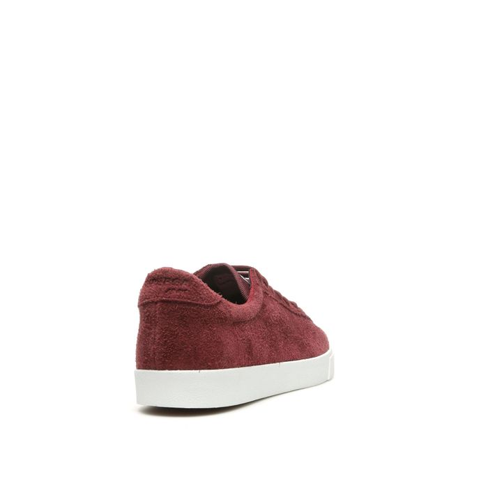 2843 HAIRYSUEU BORDEAUX-WHITE