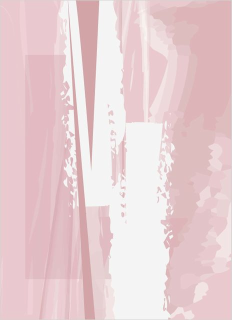 Abstract pink no1 poster