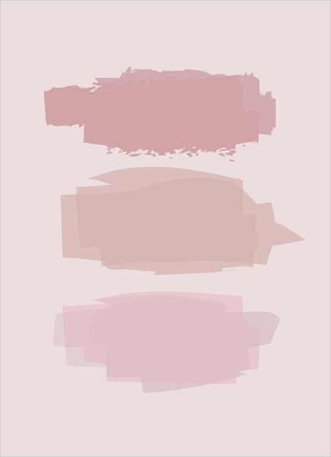 Abstract pink no2 poster