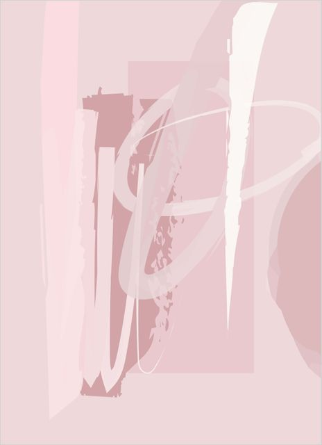 Abstract pink no3 poster