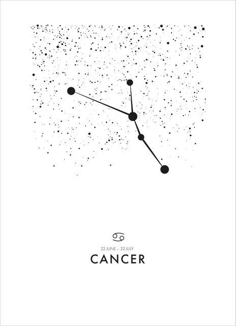 Poster kräftan/Cancer poster