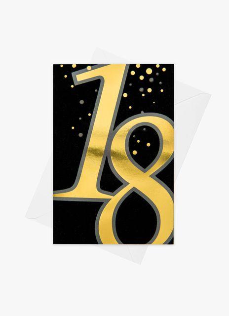 Födelsedagskort 18 år