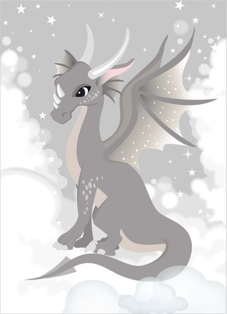 Fairy dragon poster