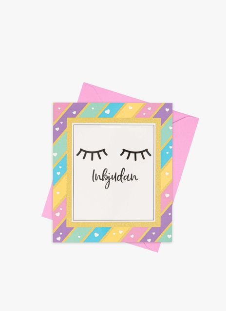 Lashes Invitation