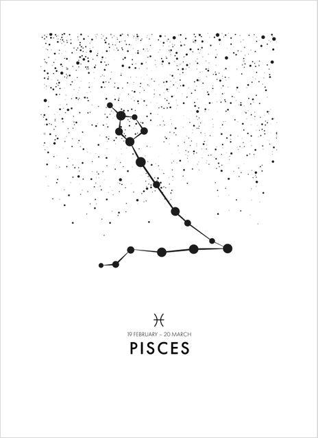 Poster fiskarna/Pisces poster