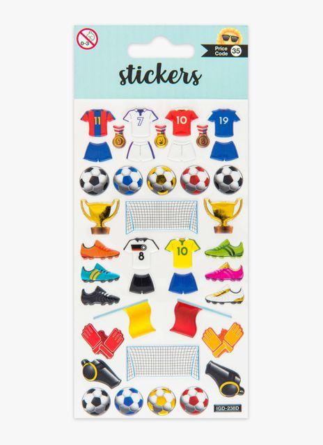 Klistermärken fotboll