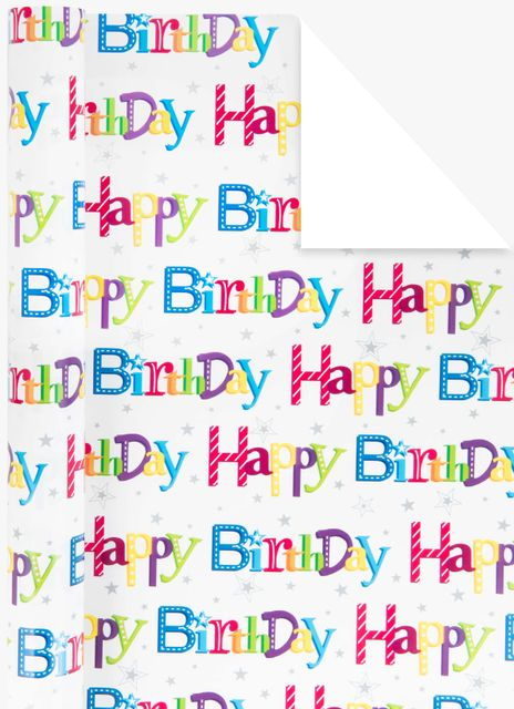 Happy B-day presentpapper