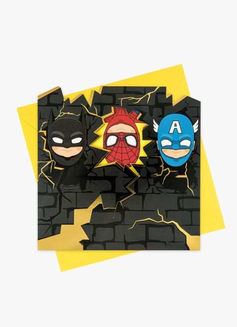 Three Superheroes