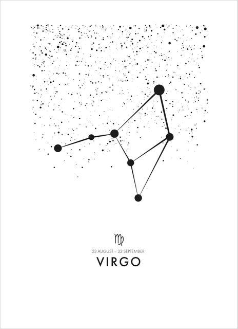 Poster jungfrun/Virgo poster