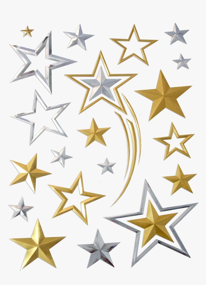 Väggdekor stjärnor