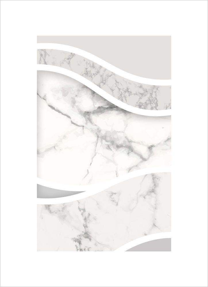 Abstrakt grå marmor poster