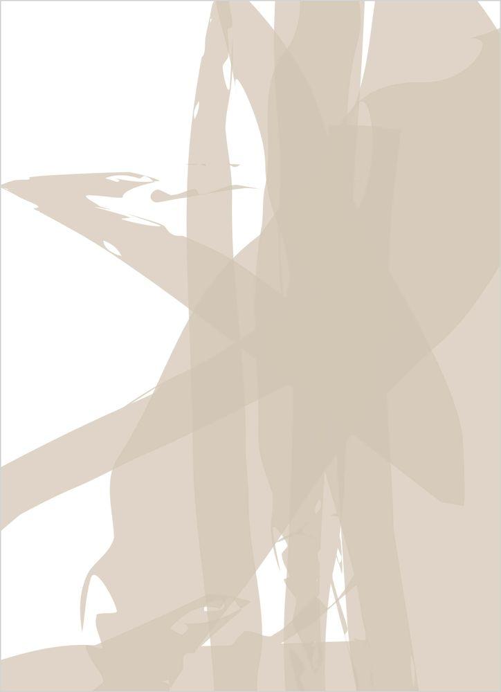 Abstrakt nude nr3 poster