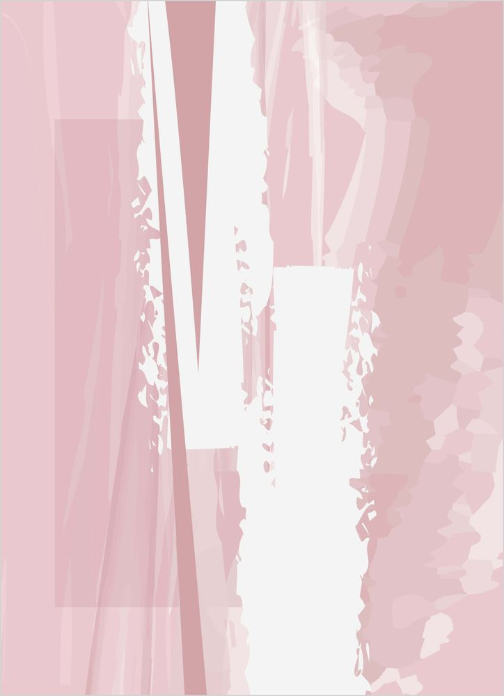 Abstrakt rosa nr1 poster