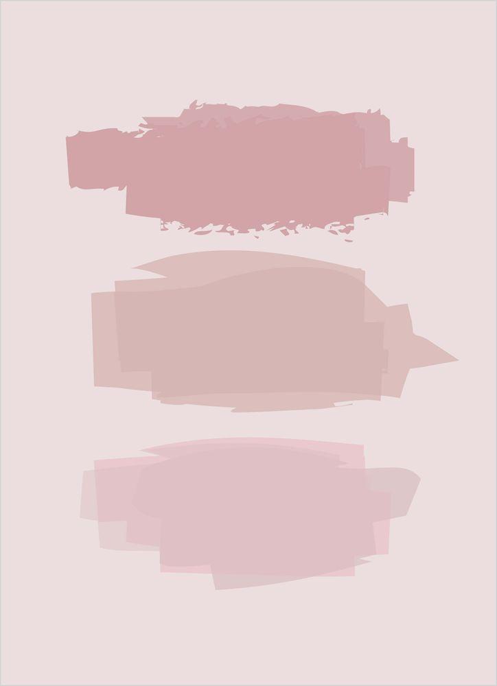 Abstrakt rosa nr2 poster
