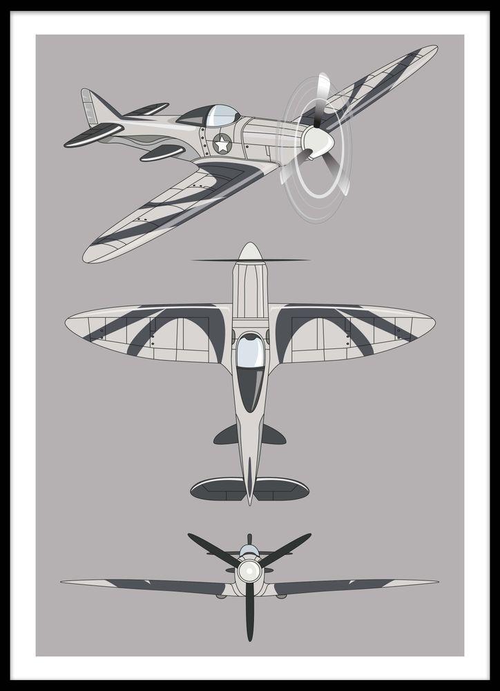 Tavla flygplan