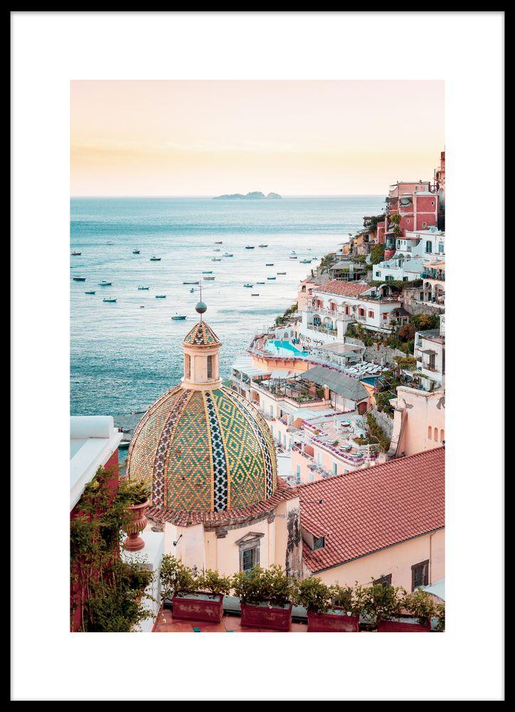 Amalfi kust poster