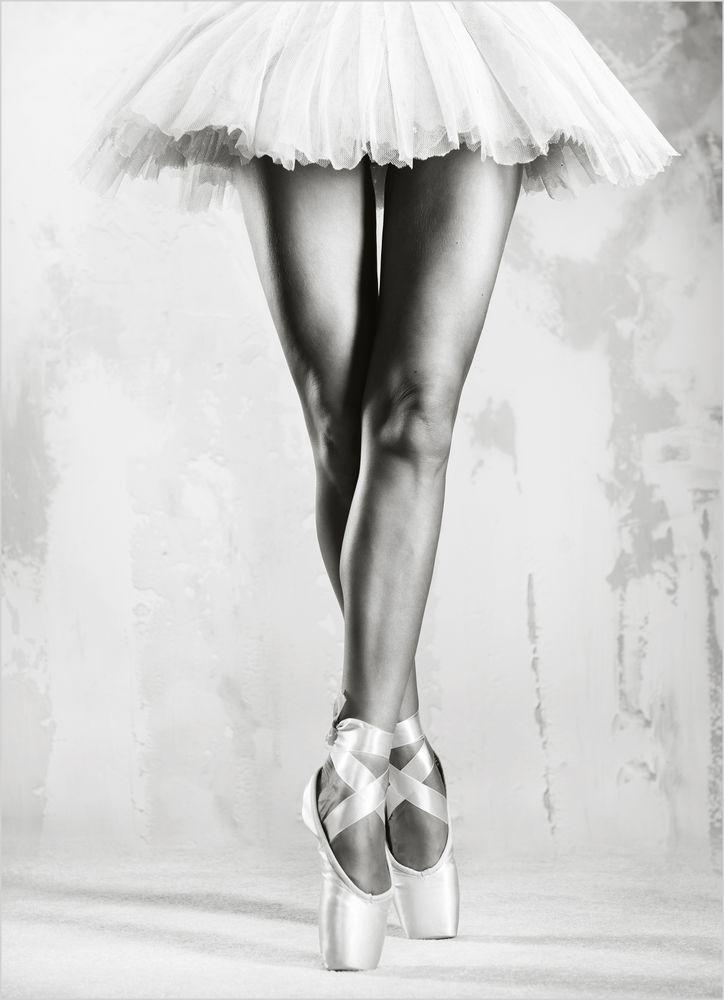 Ballet dancer poster