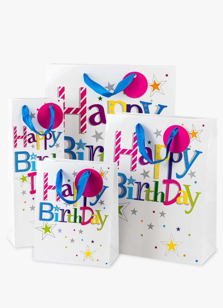 Happy Birthday presentpåse B