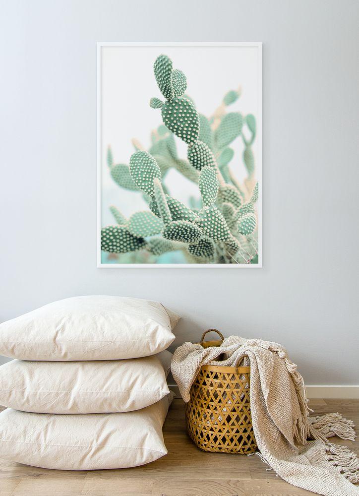 Kaktus närbild poster
