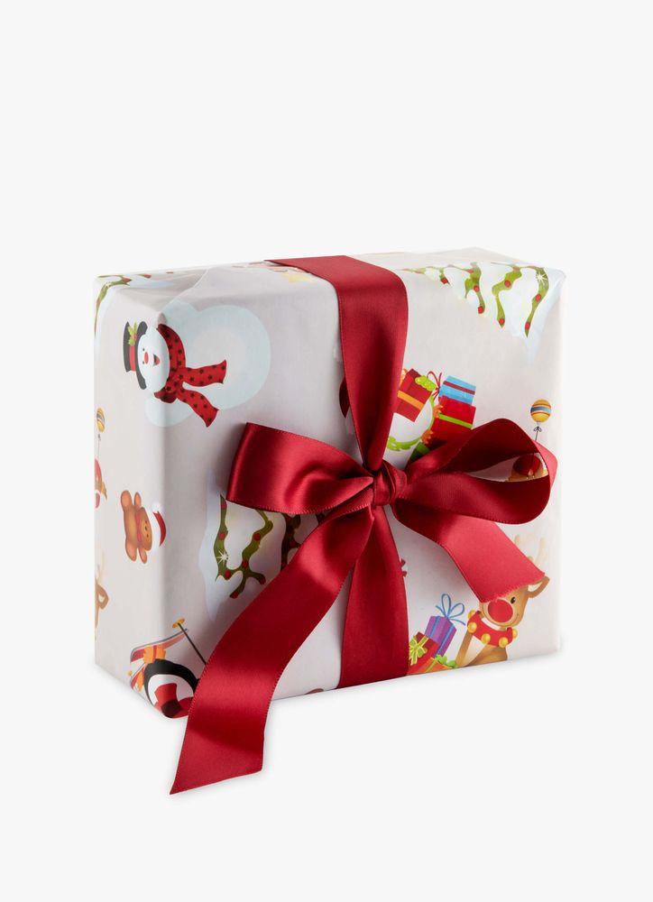 Presentpapper Julfigurer