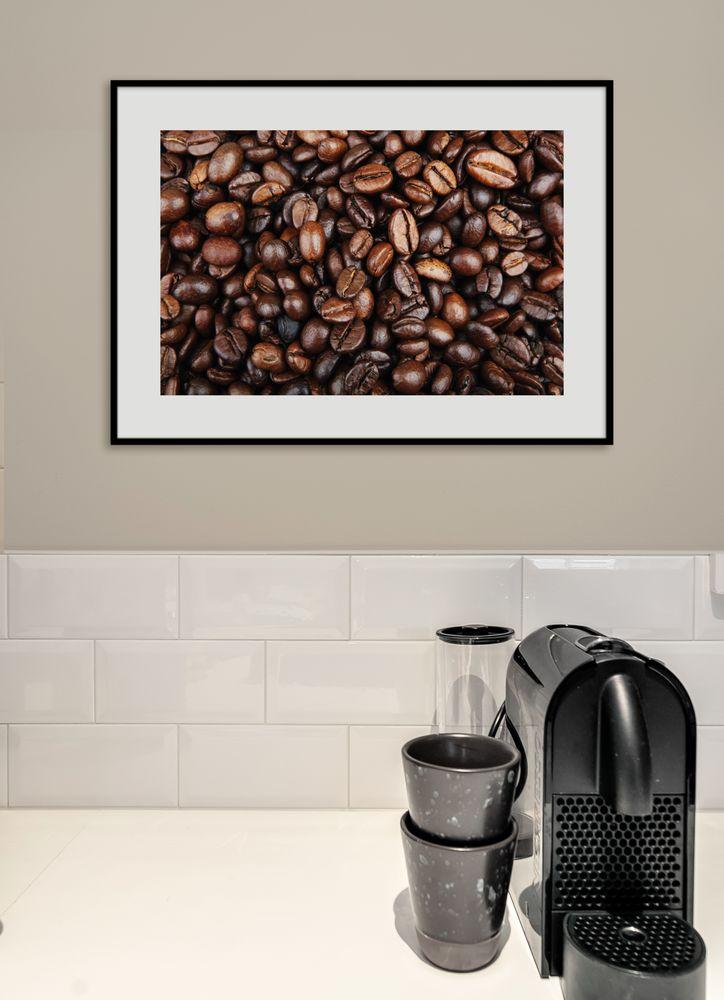 Kaffebönor poster