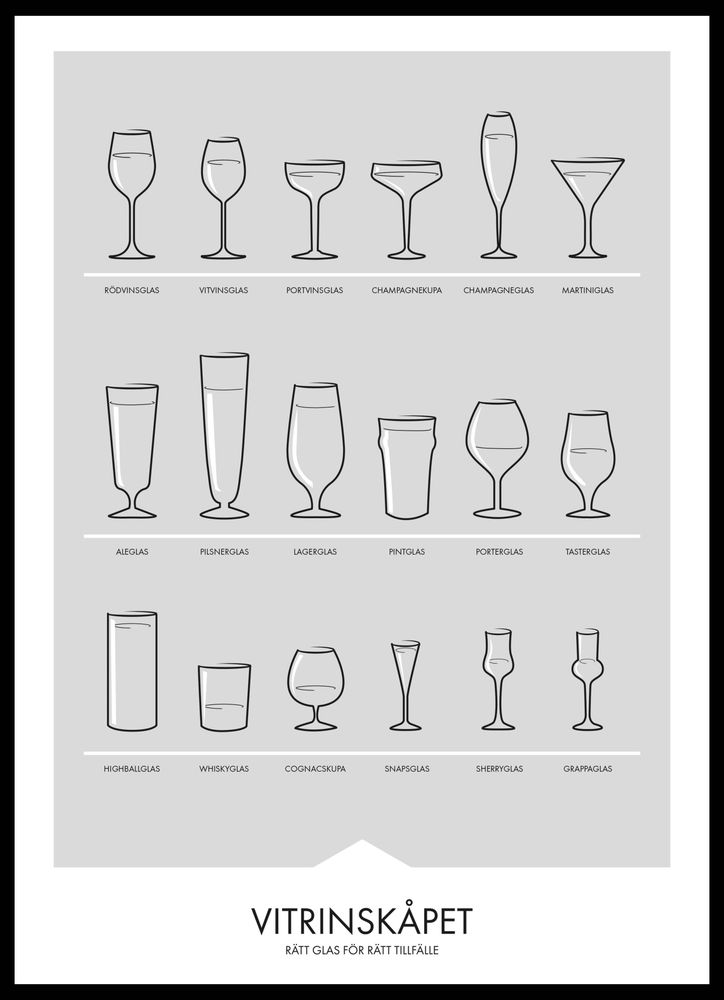Glas guide poster