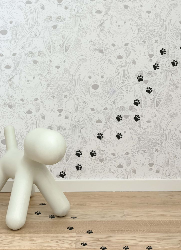 Hundspår väggdekor